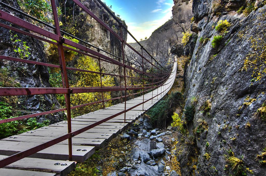 Puente de Los Cahorros HDR
