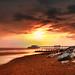 Worthing beach at February Sun by barsh11