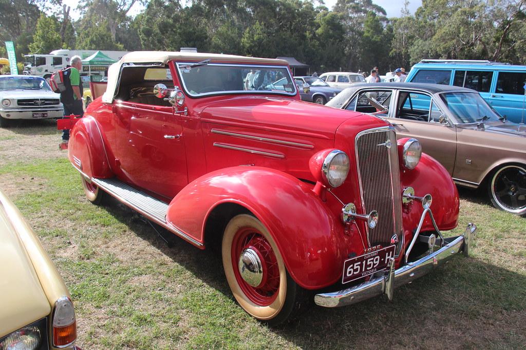 1935 Chevrolet EA Master Deluxe Roadster | General Motors wa