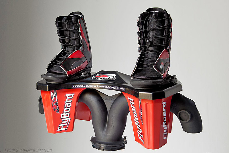 Flyboards at Canadian Jet Adventures in the Okanagan Valley, British Columbia
