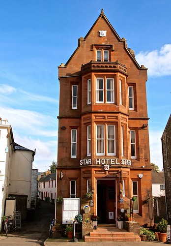 uk scotland moffat dumfries dumfriesandgalloway dumfriesshire starhotel narrowesthotelintheworld