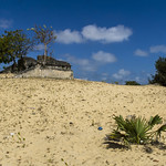Ruine im Sand