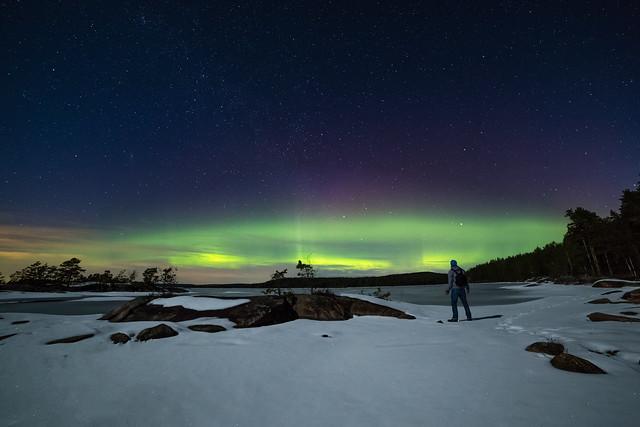 Chasing auroras