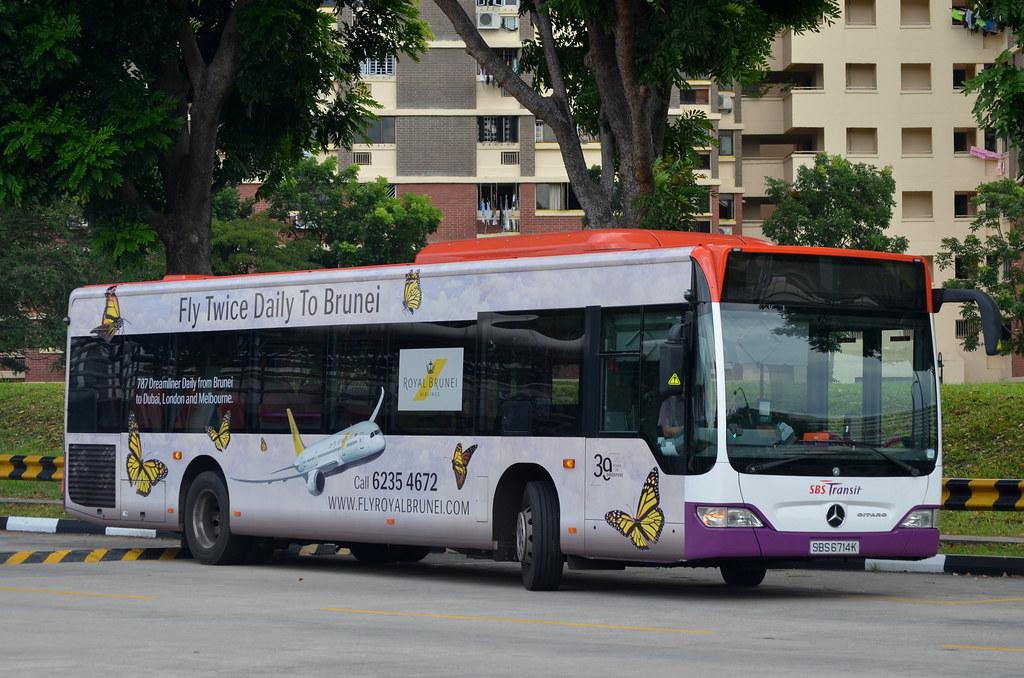SBS Transit Mercedes-Benz O530 Citaro EvoBus | SBS6714K