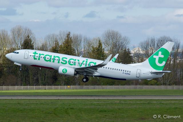 Boeing  737-8K2 - F-GZHU - Transavia France - MSN 41352 - (ORY-LFPO)