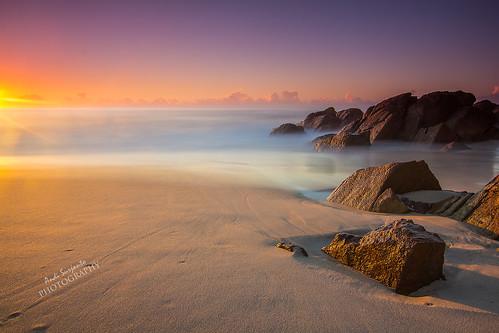 seascape rock landscape nsw zenith zenithbeach sunsire portstephen