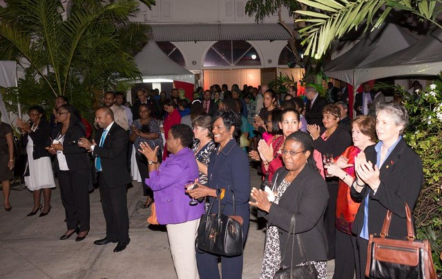 Caribbean Leadership Project Reception