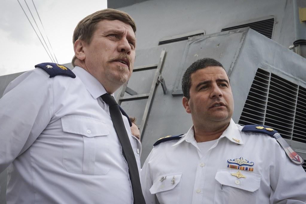 Belgian Navy Commander Visits Israel | The Israel Navy's Com