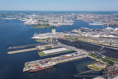 Canton Pier 11 and Ocean Hope Aerial Image202041.jpg | by Commercial Photographics