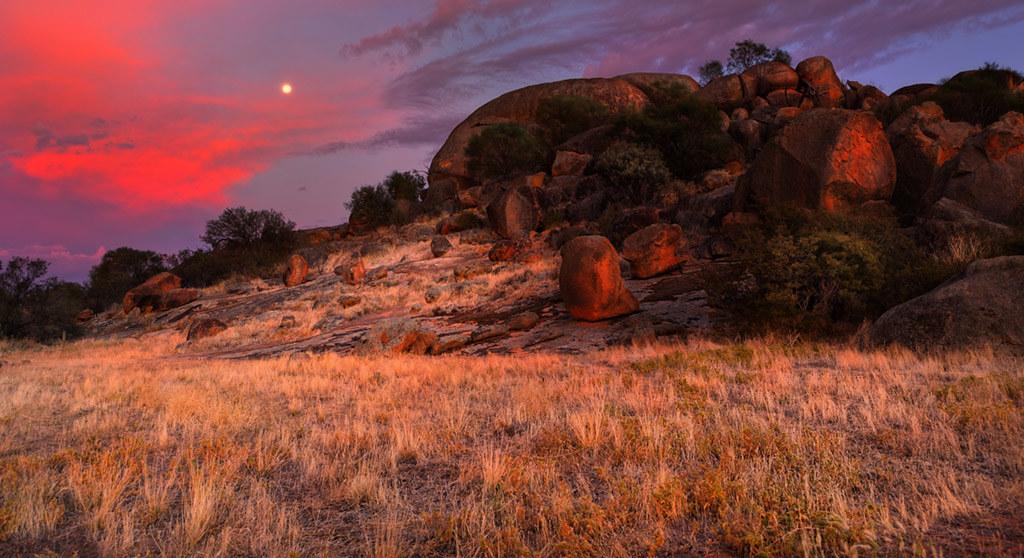 Eaglestone Rock In The Shire Of Nungarin