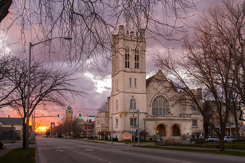 sunset church indiana richmond waynecounty photobyjane reidmemorialpresbyterianchurch holmanphotoscom holmanphotography