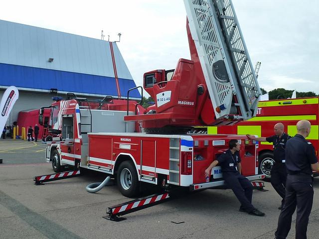 Magirus Turntable Ladder Demonstrator