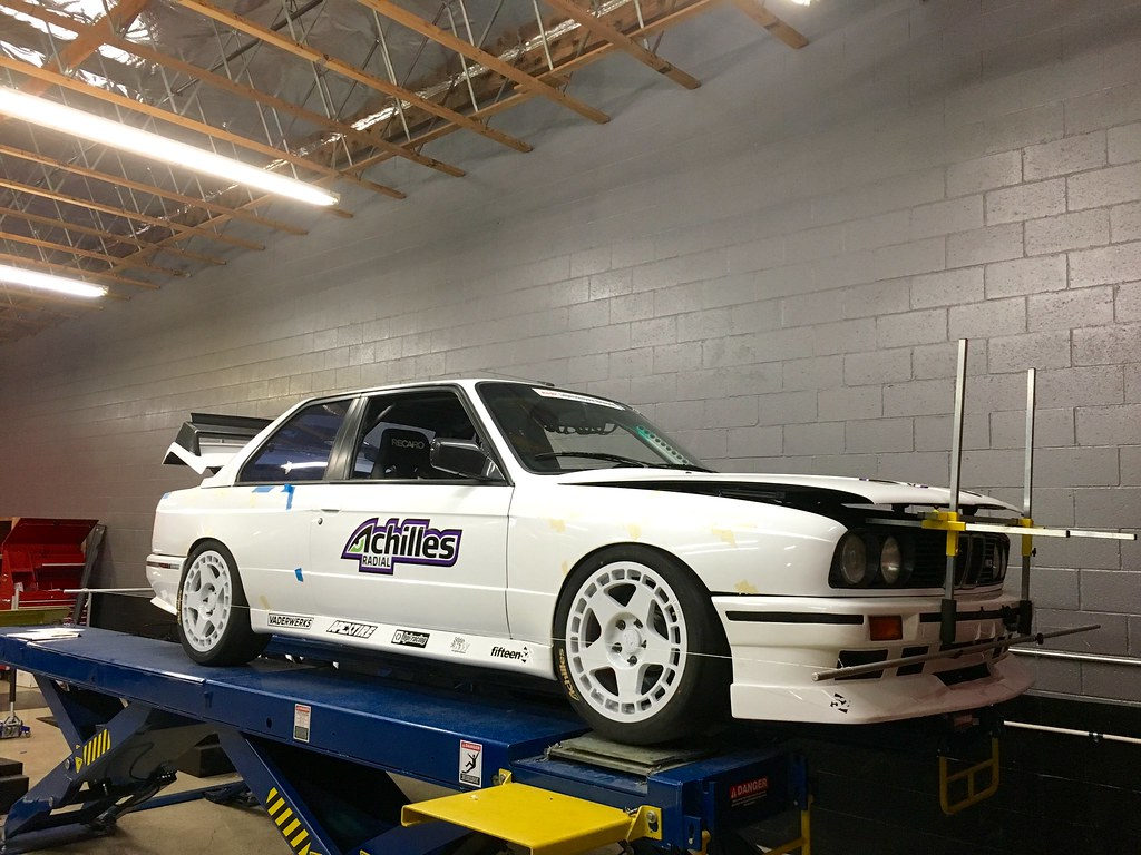 Achilles Tires E30 M3 racecar came in for what we do best