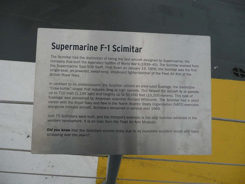 Supermarine Scimitar F.1 2