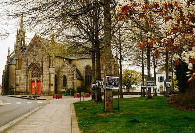 Notre beau patrimoine : la chapelle Notre Dame des Fleurs . Languidic56