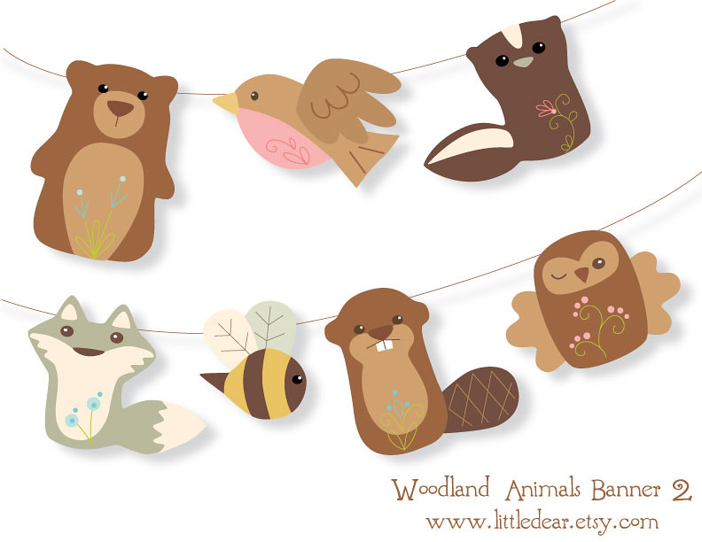 photo regarding Printable Woodland Animals titled fresh new printable woodland pets! Aimee Ray Flickr