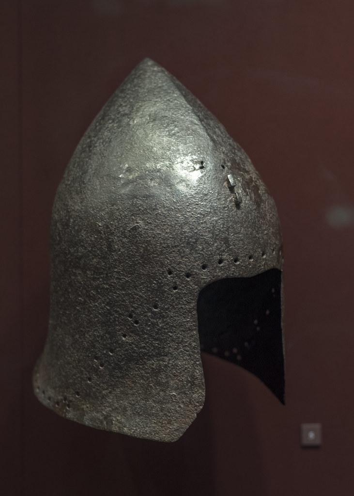 Barbute helmet, from the Venetian garrison at Chalcis | Flickr