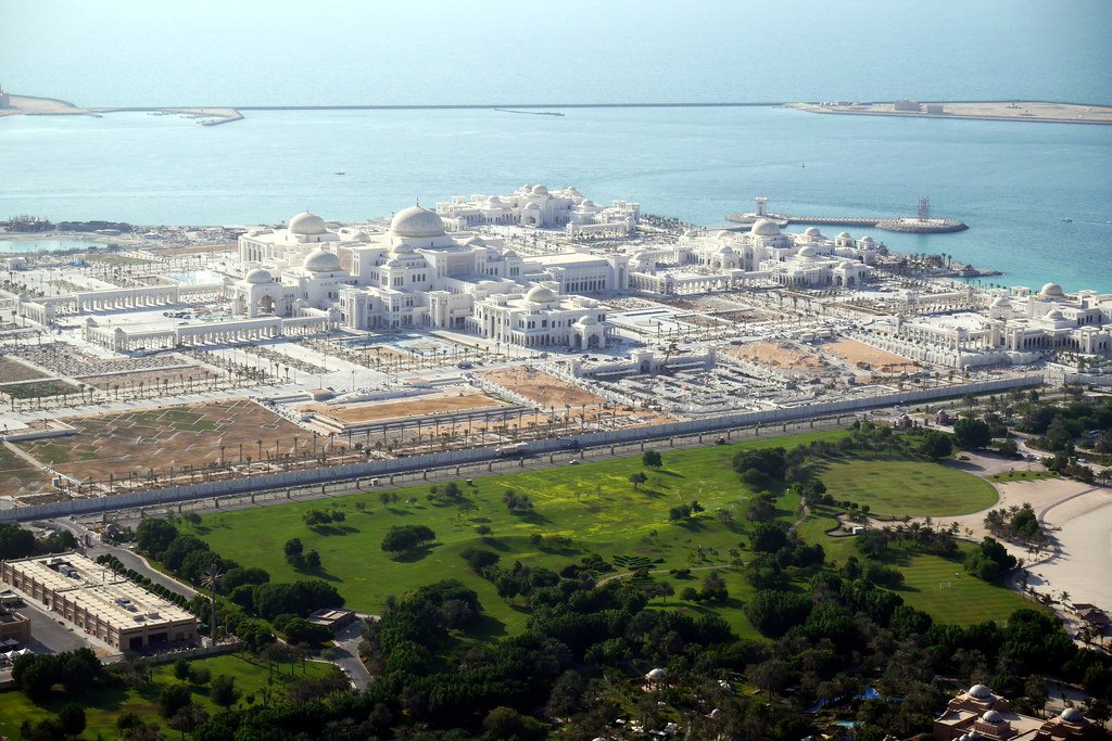 Sprawling Presidential Palace Grounds