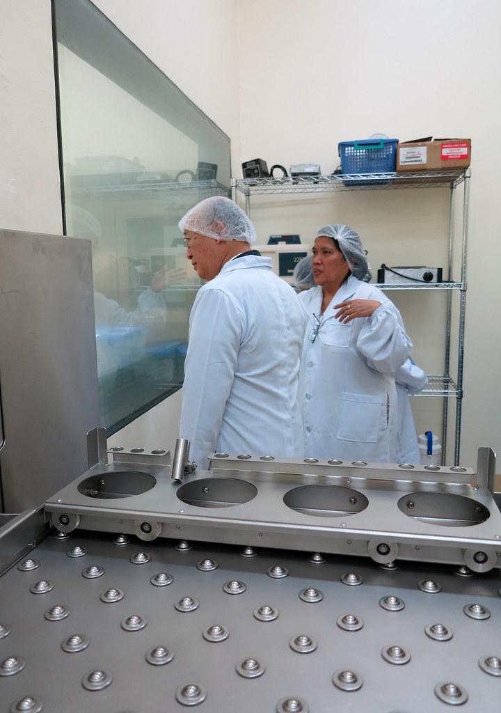 Yukiya Amano Visit to Philippine Nuclear Research Institute (01810855)