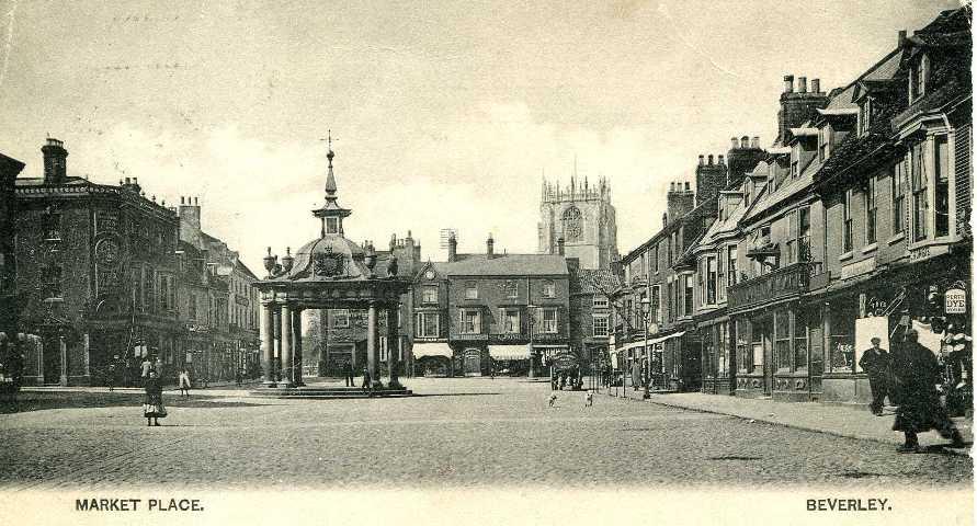 Market Place, Beverley c.1900s (archive ref PO-1-14-326)