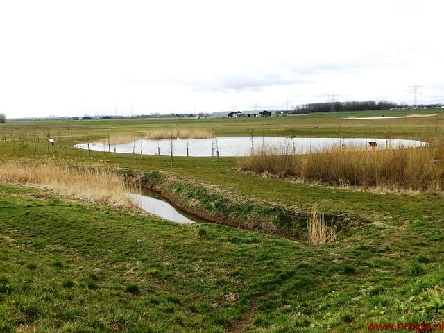 2016-03-23 stads en landtocht  Dordrecht            24.3 Km  (120)