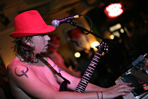 Ben K on Keyboard and Guitar
