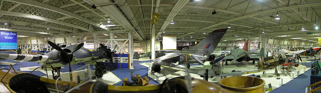 Royal Air Force museum panorama 2