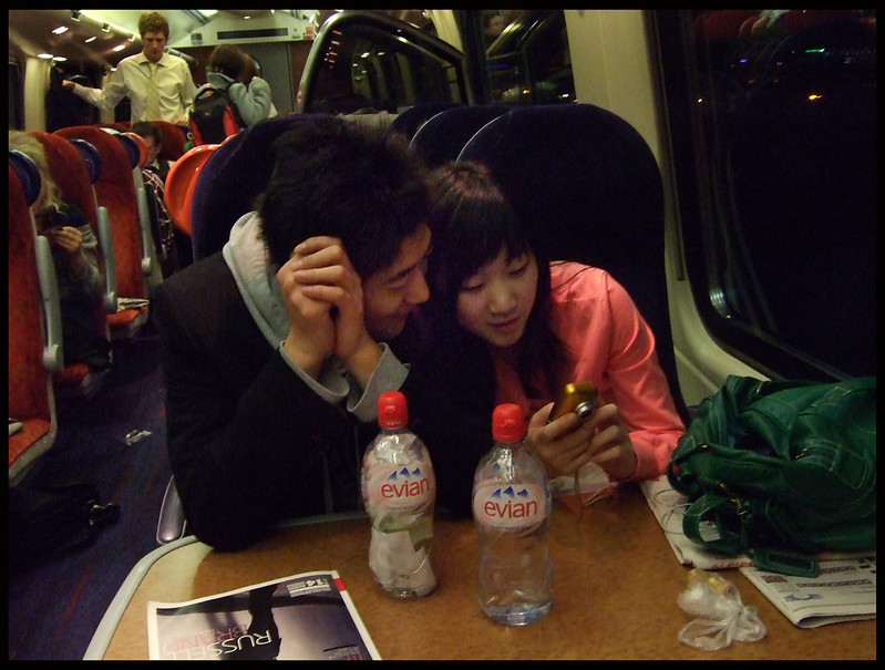 Valentine's Day on the train from Sheffield