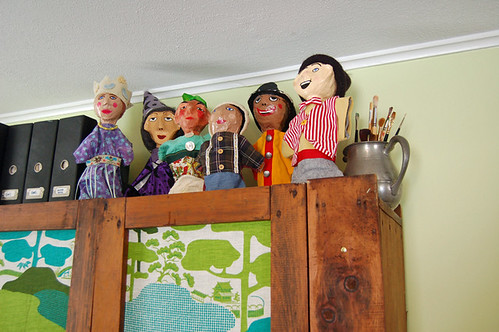 puppets peeping | by SouleMama