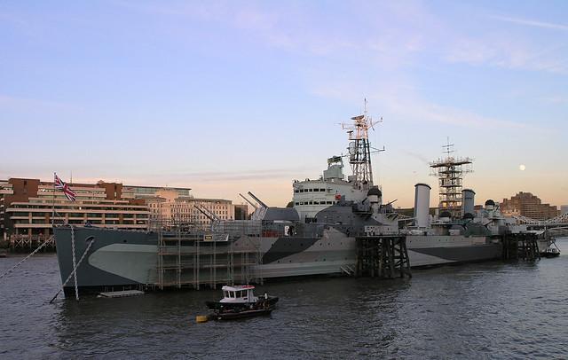 London - The HMS Belfast