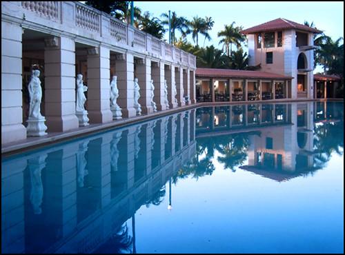 Poolside Sunrise