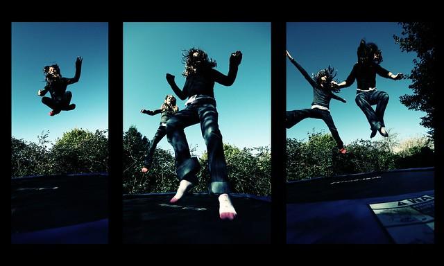 bounce - a triptych
