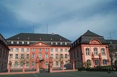 Buildings of Mainz...