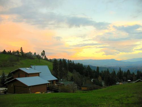sunset ilovenature washington explore columbiagorge whitesalmon strawberrymountain abigfave impressedbeauty starlisa