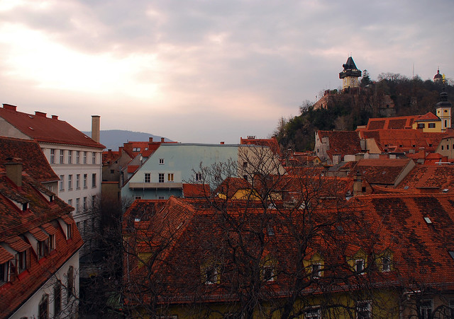 The roofs of Graz