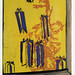 croxcard 50 carole vanderlinden (2006) IL PLEUT DEHORS<br /> acryl op doek 21x28cm