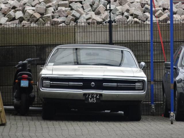 72-92-MS Chrysler 300 1970 Apeldoorn Flink ingezoomd, ik dacht dat ik de achterkant fotografeerde!