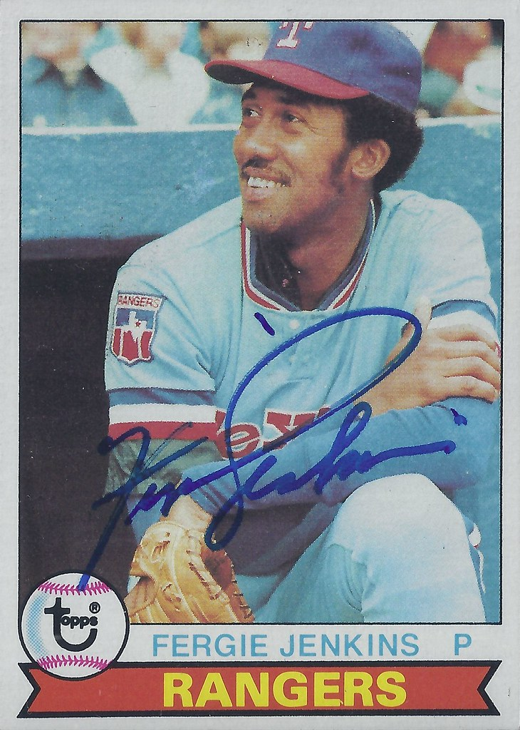 1979 Topps Ferguson Fergie Jenkins 544 Pitcher Hal Flickr