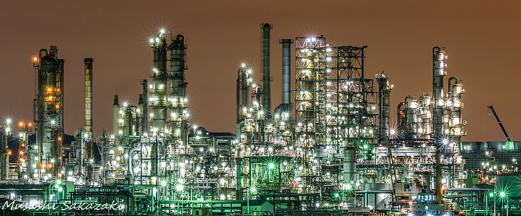 Factory Nightscape