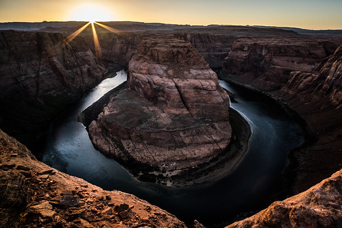 photo landmark fujixt10 fujix sunset nature ultrawide natural popular water river horseshoe fujifilm rocks bend travelling page colorado unitedstates touristic travel landscape photography fuji sky arizona usa tourism cliff xt10 us onsale portfolio national park