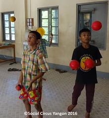 Thanlyin Boys circus 3 ballers
