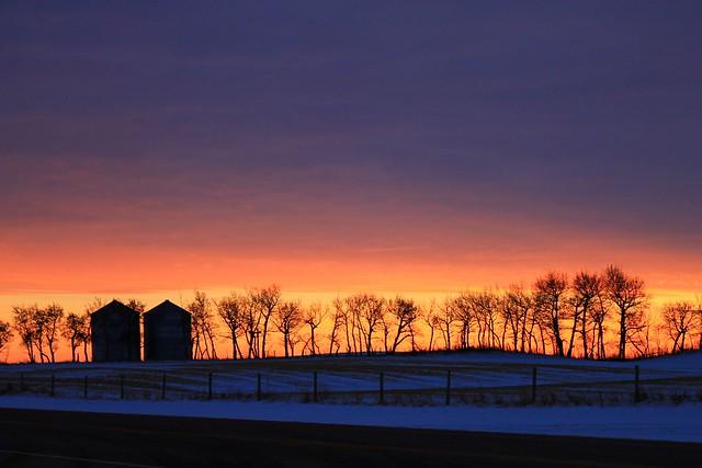 Iconic Alberta Sunset