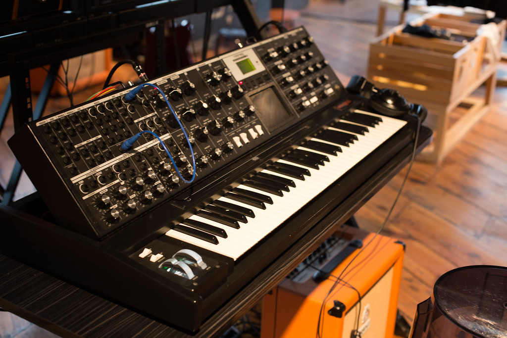 Moog Synth at the Moog Factory Store in Asheville, NC | Flickr