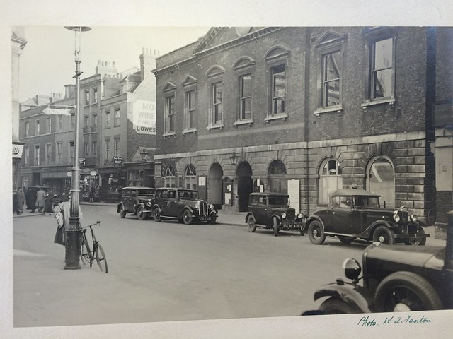 Cambridge old guildhall - note to the left is old Petty Cury