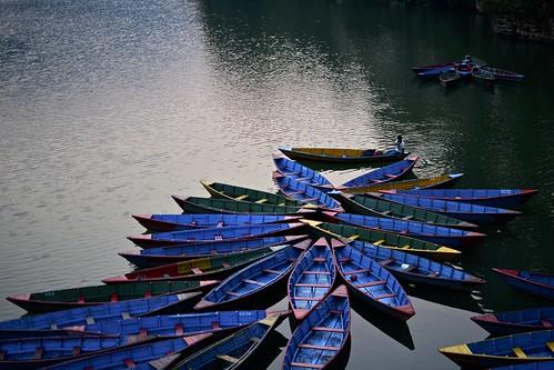 nepal lake boats nikon asia pokhara phewalake pokharalake d7100 nikon35 nikond7100 nepalroutes