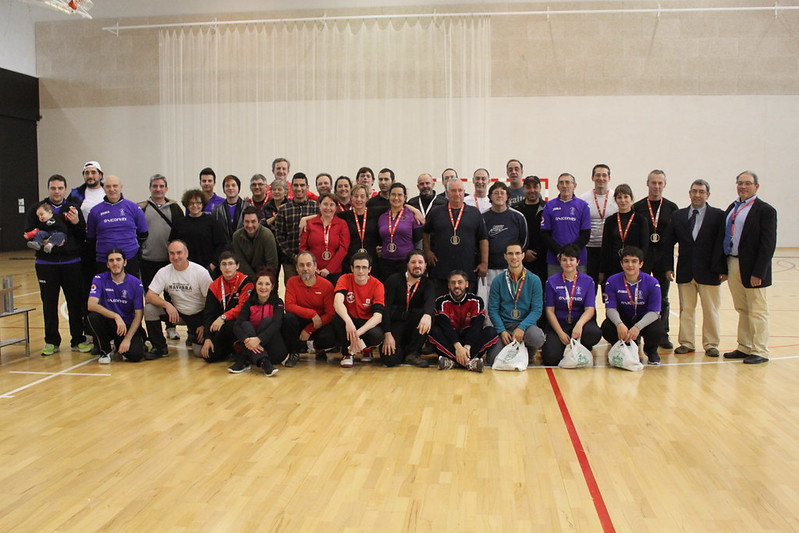 Campeonato Navarro de Sala 2016: junior y senior