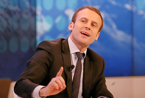 Europe at a Tipping Point: Emmanuel Macron | by World Economic Forum