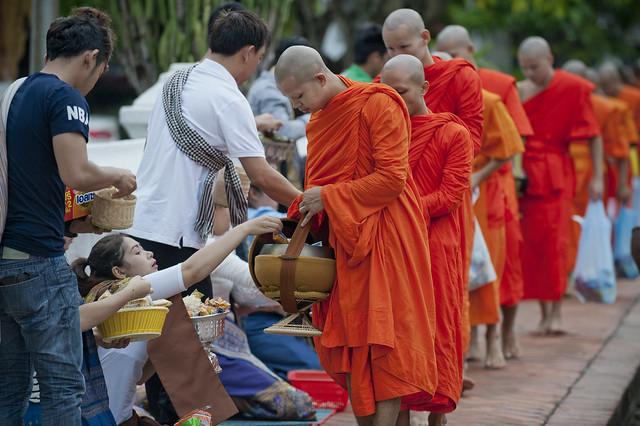LAO265 Boun Khao Pansa - Luangprabang 206 - Laos