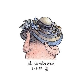 """""""Muchas cosas"""" #sombrero #sombreros #dibujo #arte #español #drawing"""
