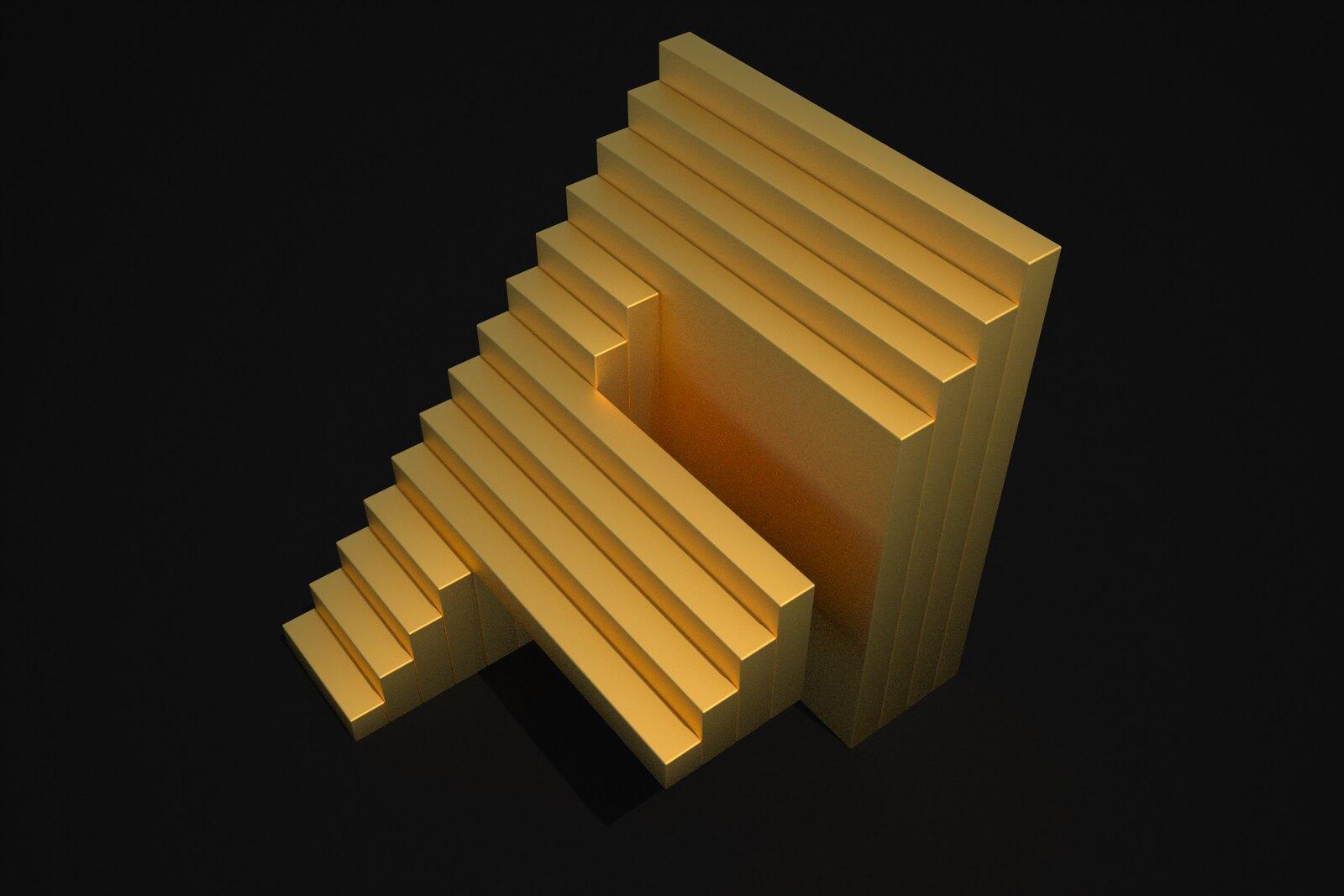 Perceptualizaciones del Estudio de Arqué Poética y Visualística Prospectiva para Takenobu Igarashi letra  F (fractalidad)